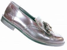 Buy Nunn Bush Comfort Men's Burgundy Leather Wingtip Tassel Kilt Loafer Shoes 9M