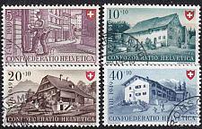 Buy SCHWEIZ SWITZERLAND [1949] MiNr 0525-28 ( O/used ) [01] Pro Patria