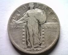 Buy 1929-D STANDING LIBERTY QUARTER FINE+ F+ NICE ORIGINAL COIN FROM BOBS COINS