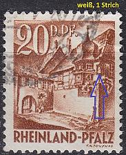 Buy GERMANY Alliiert Franz. Zone [RheinlPfalz] MiNr 0023 y II ( O/used )