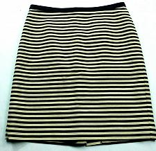 Buy Loft Womens A Line Skirt Size 2 Blue White Striped Lined Back Zip