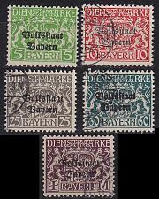 Buy GERMANY Bayern Bavaria [Dienst] MiNr 0030 ex ( O/used ) [02]