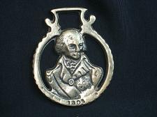 Buy Vintage Napoleon War 1805 Horse Brass Medallion Harness Antique Tack