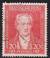 Buy GERMANY Alliiert AmBri [1949] MiNr 0109 ( O/used ) [02]