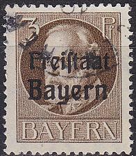 Buy GERMANY Bayern Bavaria [1919] MiNr 0152 A ( O/used )