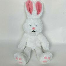 Buy Personal Creations White Easter Bunny Rabbit Spring Plush Stuffed Animal 14.5""