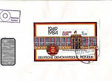 Buy GERMANY DDR [1984] MiNr 2890 Block 77 ( Brief ) Bauwerke