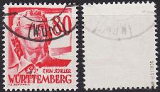 Buy GERMANY Alliiert Franz. Zone [Württemberg] MiNr 0036 ( O/used ) [01] geprüft
