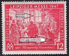 Buy GERMANY Alliiert Gemeinschaft [1947] MiNr 0965 III ( **/mnh ) [01] Plattenfehler