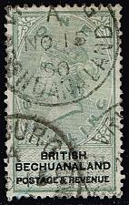 Buy Bechuanaland Prot. #16 Queen Victoria; Used (2Stars) |BEC016-01XRP
