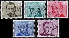 Buy SCHWEIZ SWITZERLAND [1971] MiNr 0955-59 ( O/used ) Persönlichkeiten