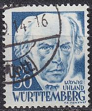 Buy GERMANY Alliiert Franz. Zone [Württemberg] MiNr 0024 y ( O/used )