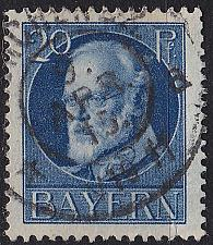 Buy GERMANY Bayern Bavaria [1914] MiNr 0097 I ( O/used )