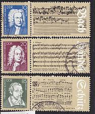 Buy GERMANY DDR [1985] MiNr 2931-33 ( OO/used ) Musik