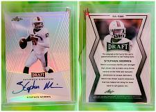 Buy NFL Stephen Morris autographed 2014 Leaf Draft Rookie Refractor #Bas-mi Mnt
