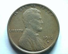 Buy 1916-D LINCOLN CENT PENNY EXTRA FINE XF EXTREMELY FINE EF NICE ORIGINAL COIN