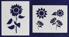 Buy Sunflower Stencils Mylar 2 Pieces of 14 Mil