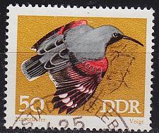 Buy GERMANY DDR [1973] MiNr 1841 ( OO/used ) Vögel
