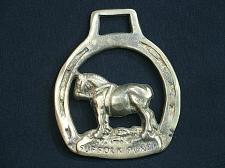 Buy Vintage Medallion Harness Horse Brass Suffolk Punch Workhorse