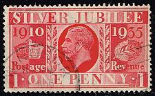Buy Great Britain #227 Silver Jubilee; Used (1.75) (1Stars) |GBR0227-03XRS