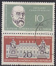 Buy GERMANY DDR [1960] MiNr 0795 WZdr12 ( OO/used )