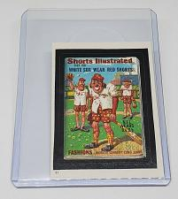 Buy 1986 Topps Wacky Packages SHORTS ILLUSTRATED WHITE SOX WEAR RED SHORTS #31 NMNT