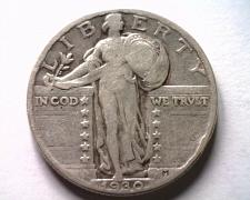Buy 1930 STANDING LIBERTY QUARTER FINE F NICE ORIGINAL COIN BOBS COINS FAST SHIPMENT