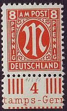 Buy GERMANY Alliiert AmBri [1945] MiNr 0021 A ( **/mnh )