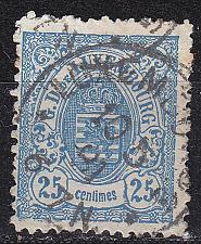 Buy LUXEMBURG LUXEMBOURG [1875] MiNr 0043 B ( O/used )
