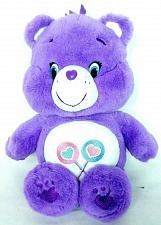"Buy Care Bear Share Bear Purple Heart Lollipop Plush Stuffed Animal 2014 13.5"""