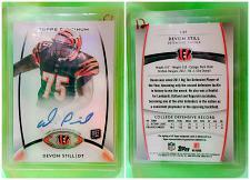 Buy NFL Devion Still Bengals Autographed 2012 Topps Platinum Rookie Refractor #145