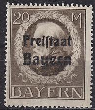 Buy GERMANY Bayern Bavaria [1919] MiNr 0170 A ( **/mnh ) [01]