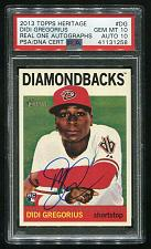 Buy 2013 TOPPS HERITAGE REAL ONE AUTO DIDI GREGORIOUS, PSA 10 AUTO 10 (41131258)