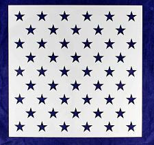 """Buy 50 Star Field Stencil 14 Mil -17.5""""H x 17.5""""W - Painting /Crafts/ Template"""