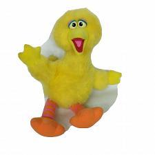 "Buy Vintage Sesame Street Big Bird Playskool Yellow Plush Stuffed Animal 1986 14.5"""