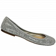 Buy Gianni Bini Womens Sparkly Rhinestone Ballet Flat Shoes Size 8.5 M