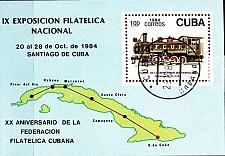 Buy KUBA CUBA [1984] MiNr 2898 Block 87 ( O/used ) Eisenbahn