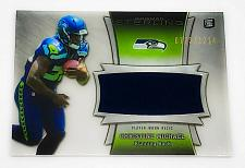 Buy NFL CHRISTIAN MICHAEL SEAHAWKS 2013 BOWMAN STERLING JUMBO GAME JERSEY RC /1214