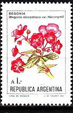 Buy ARGENTINIEN ARGENTINA [1985] MiNr 1757 ( **/mnh ) ex Blumen