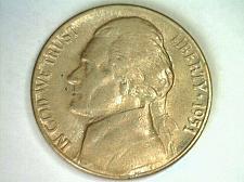 Buy 1951-D JEFFERSON NICKEL CHOICE / GEM UNCIRCULATED NICE COLOR NICE ORIGINAL COIN