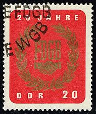 Buy Germany DDR #773 Free German Trade Union; CTO (2Stars) |DDR0773-04