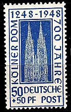 Buy GERMANY Alliiert AmBri [1948] MiNr 0072 YC ( **/mnh )