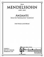 Buy Mendelssohn - Andante from the Reformation symphony