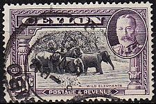 Buy CEYLON SRI LANKA [1935] MiNr 0225 ( O/used ) Tiere
