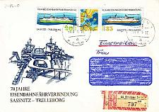 Buy GERMANY DDR [1979] MiNr 2429-30 Zdr ( Brief ) [01] Schiffe