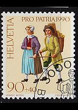 Buy SCHWEIZ SWITZERLAND [1990] MiNr 1420 ( O/used ) Pro Patria