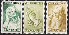 Buy GERMANY Saar [1955] MiNr 0365-67 ( **/mnh )