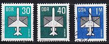 Buy GERMANY DDR [1982] MiNr 2751-53 ( OO/used ) Flugzeuge