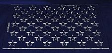 "Buy 50 Star Field Set -11.34""H X 16""L""-G-Spec 1/8"" Acrylic- Painting /Crafts/Templat"