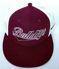 Buy Rolla Bulldogs High School Missouri Men's Nike Red White Trucker Hat Snapback